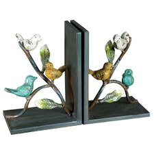 Pretty Bird Bookend (Set of 2)