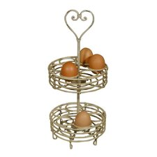 2 Tier Egg Holder with Heart
