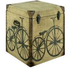 Cycle Canvas Blanket Box