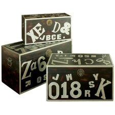 A to Z Trunk (Set of 3)