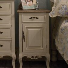 Chateau 1 Drawer Bedside Table
