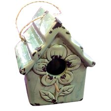 Gifts and Accessories Pretty Flower Bird House