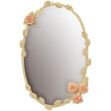 Gifts and Accessories Le Rose Wall Mirror