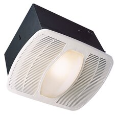 Deluxe 100 CFM Exhaust Bathroom Fan with Night Light