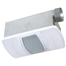Ceramic 70 CFM Exhaust Bathroom Fan with Heater