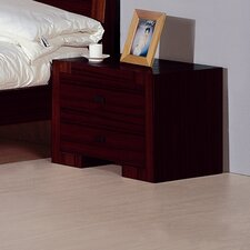 <strong>Hokku Designs</strong> Alpha 2 Drawer Nightstand