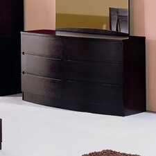 <strong>Hokku Designs</strong> Maya 6 Drawer Dresser