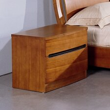 <strong>Hokku Designs</strong> Maya 2 Drawer Nightstand
