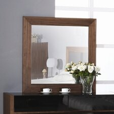 Stark Mirror in Walnut
