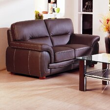 Sienna Leather Loveseat
