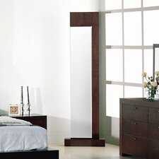 Traxler Standing Mirror in Walnut