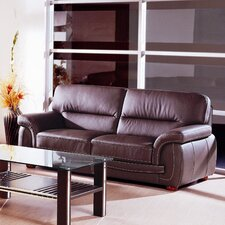 <strong>Hokku Designs</strong> Sienna Leather Sofa