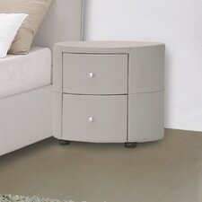 <strong>Hokku Designs</strong> Excite 2 Drawer Nightstand