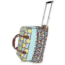 <strong>Amy Butler</strong> Graceful Traveler Cotton 2-Wheeled Carry-On Duffel
