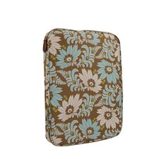 Nola Turquoise Fern Flower Laptop Wrap