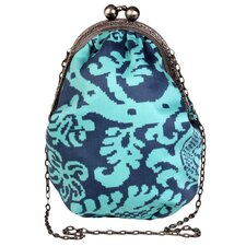 Blue Imperial Pretty Lady Mini Clutch