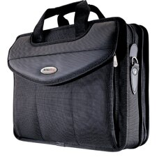 <strong>Mobile Edge</strong> Premium V-Load Laptop Briefcase