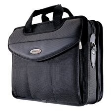 "16"" Premium V-Load Briefcase in Black"