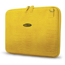 Women's TechStyle Portfolio in Faux Croc Yellow