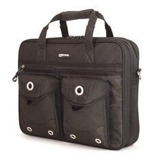"The Edge 15.4"" Briefcase in Black"