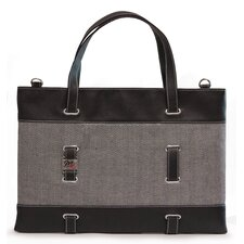 <strong>Mobile Edge</strong> Herringbone Ultrabook Tote Bag