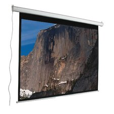 "<strong>Mustang</strong> Aspect Ratio Matte White 120"" Electric Projection Screen"