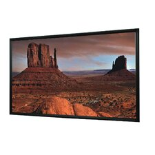 Matte White Fixed Frame Projection Screen