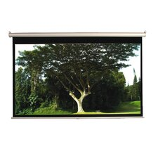 "Matte White 92"" Manual Projection Screen"