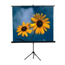 "<strong>Mustang</strong> 84"" x 84"" Tripod Screen in Matte White"