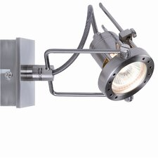 Halogen 230V Techno 1 Light Wall Spotlight