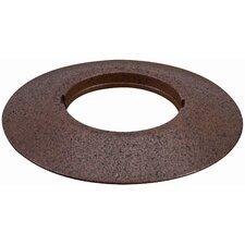 Profi Line UpDownlight Mounting Ring in Rust