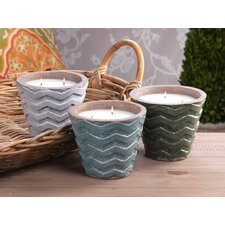 Clemence Citronella Candle Vase Set (Set of 2)