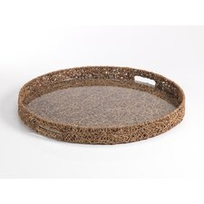 Bago Bago Vine Round Serving Tray