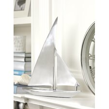 Decorative Aluminum Sailboat
