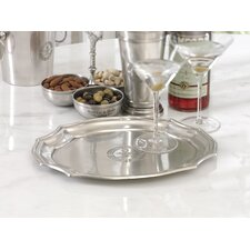 Le Grand Cafe Scalloped Edge Tray