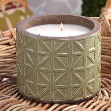 Treillage Citronella Candle Pot Set (Set of 2)