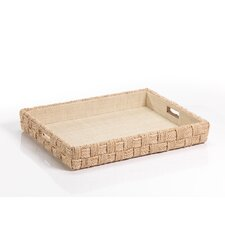 Abaca Rope Rectangular Serving Tray