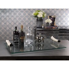 Barclay Butera Casablanca Buffet Tray with Bone Handles