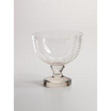 Leaf Cut Glass Bowl
