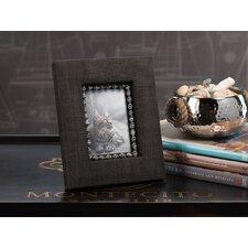 Raffia Picture Frame with Zebra Shells