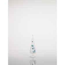 Decorative Glass Tree with Beads (Set of 6)