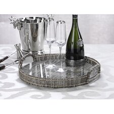 Holiday Sophisticates Coco Twig Round Serving Tray
