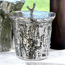Artisan Aluminum Ice Bucket with Lid