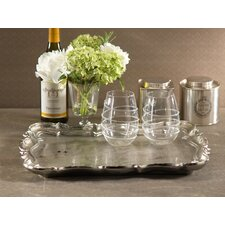 Ornate Rectangular Serving Tray