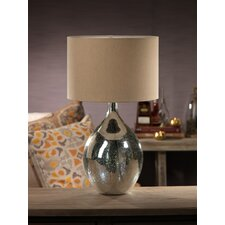 "Moroccan 25.5"" H Table Lamp with Drum Shade"
