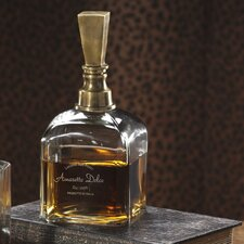 Amaretto Dolce Etched Decanter