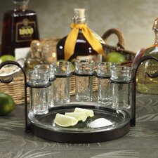 6 Piece Fiesta Shot Tequila Set (Set of 6)