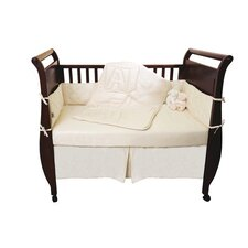 <strong>Natura</strong> Organic 4 Piece Crib Bedding Set
