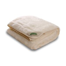 Organic Woolfilled Fitted Mattress Pad
