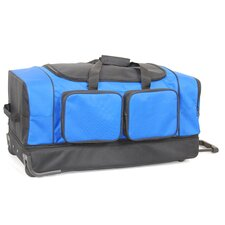 "30"" 2-Wheeled Summer Travel Duffel"
